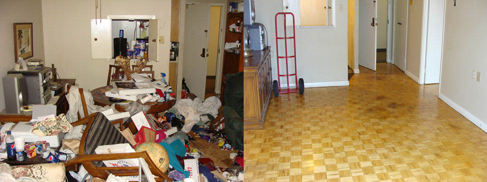 London hoarding Cleaning services