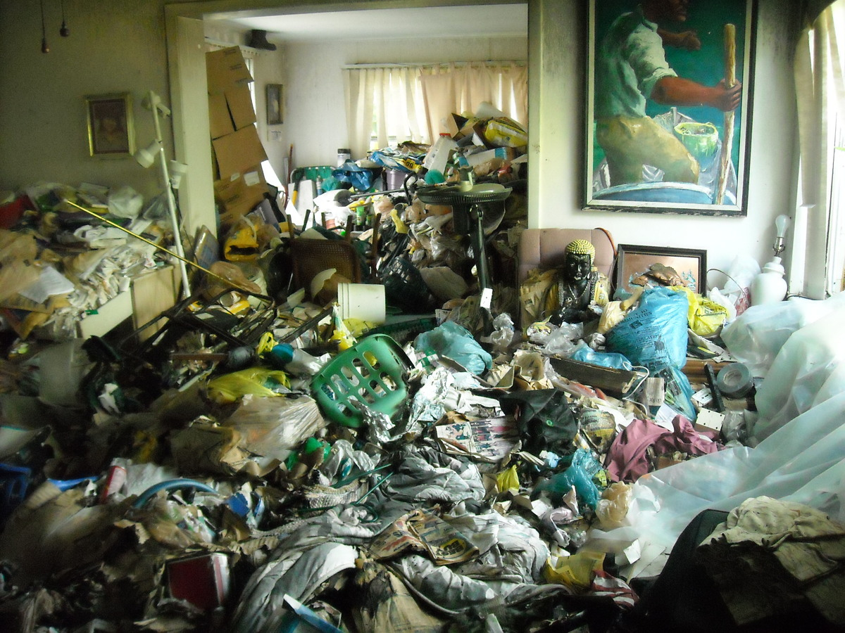 hoarding clean up services london